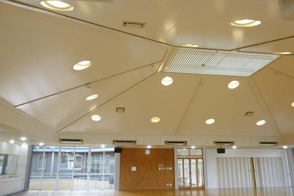 建築の常識を変える革新的膜天井システムを開発